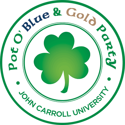 Pot O Blue and Gold