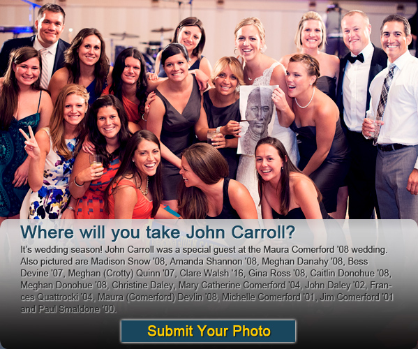Where will you take John Carroll?